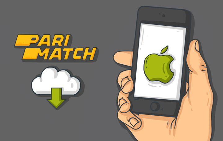 скачать мобильное приложение Пари матч на IOS